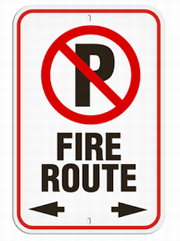 Fire Route Safety